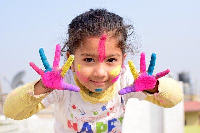 dziecięca odzież ochrona do prac plastycznych